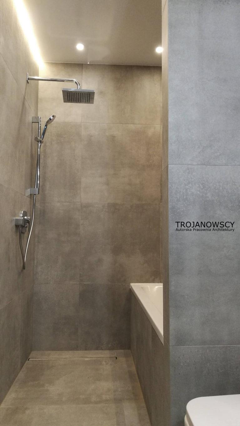 Widok na prysznic