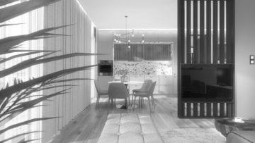 Aranżacja wnętrz apartamentu 90 m² na Osiedlu Avia w Bydgoszczy