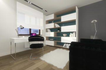 Projekt wnętrz domu jednorodzinnego 160m2 Lipno