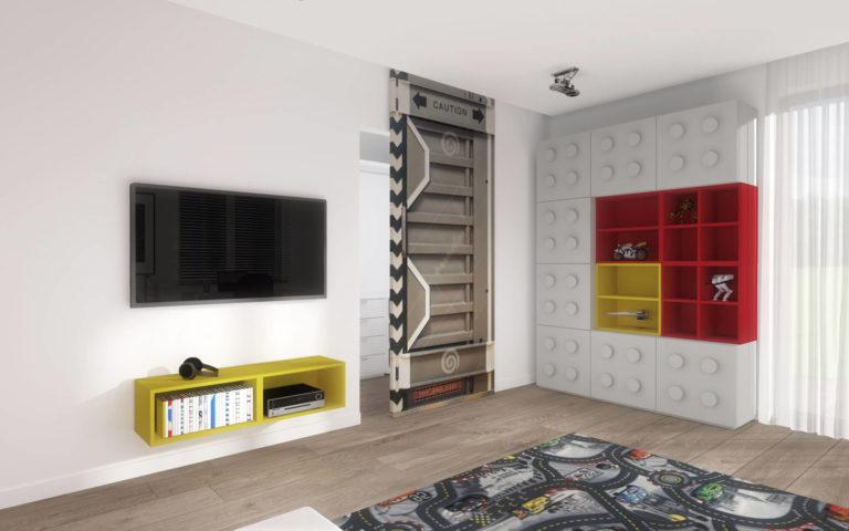 Projekt wnętrza domu, Niemcz