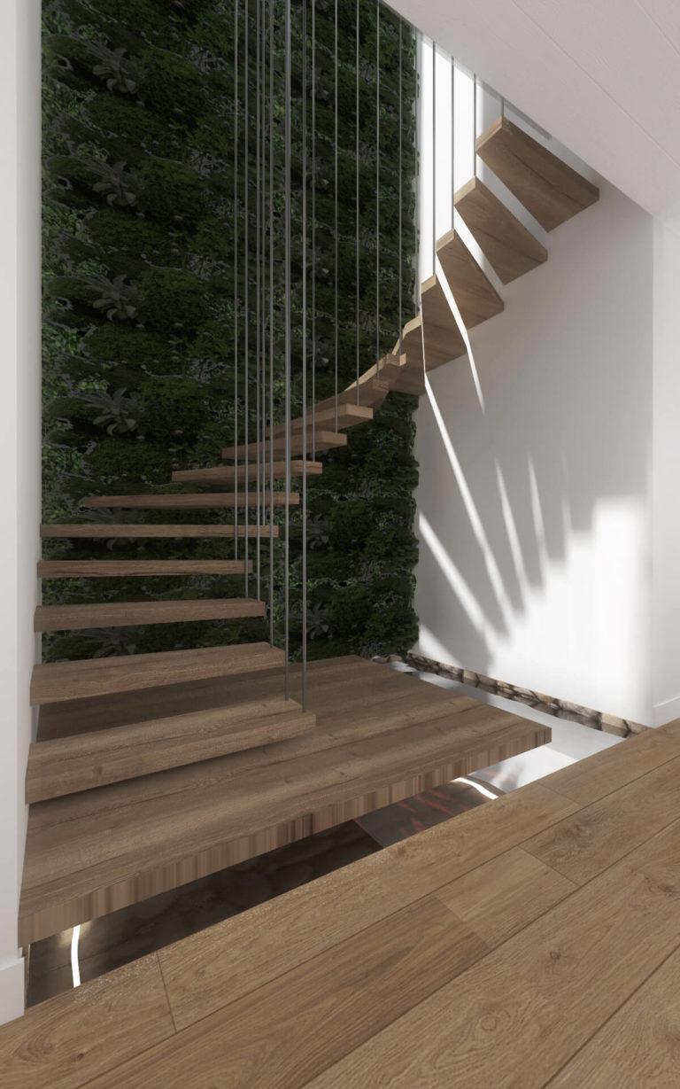 Projekt schodów, Włocławek
