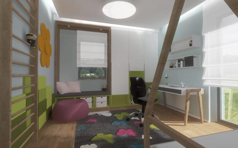 Projekt pokoju dla dziecka, Włocławek