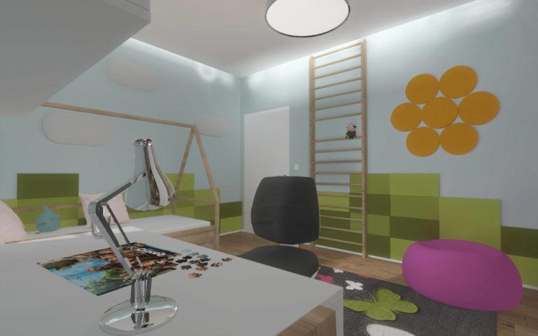 pokój dla dziecka wizualizacja
