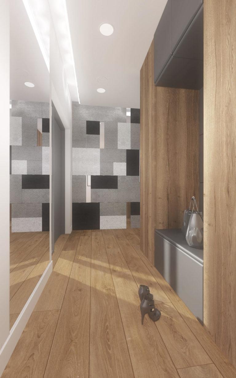 Projekt wnętrza domu, Włocławek