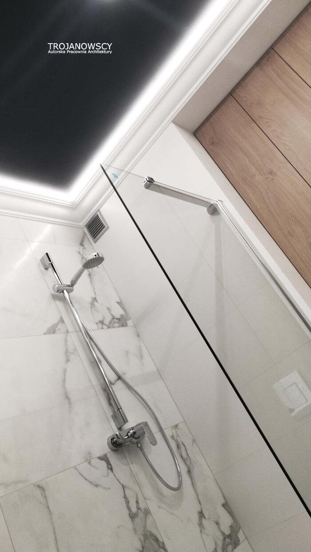 aranżacja łazienki na osiedlu paryskim w bydgoszczy
