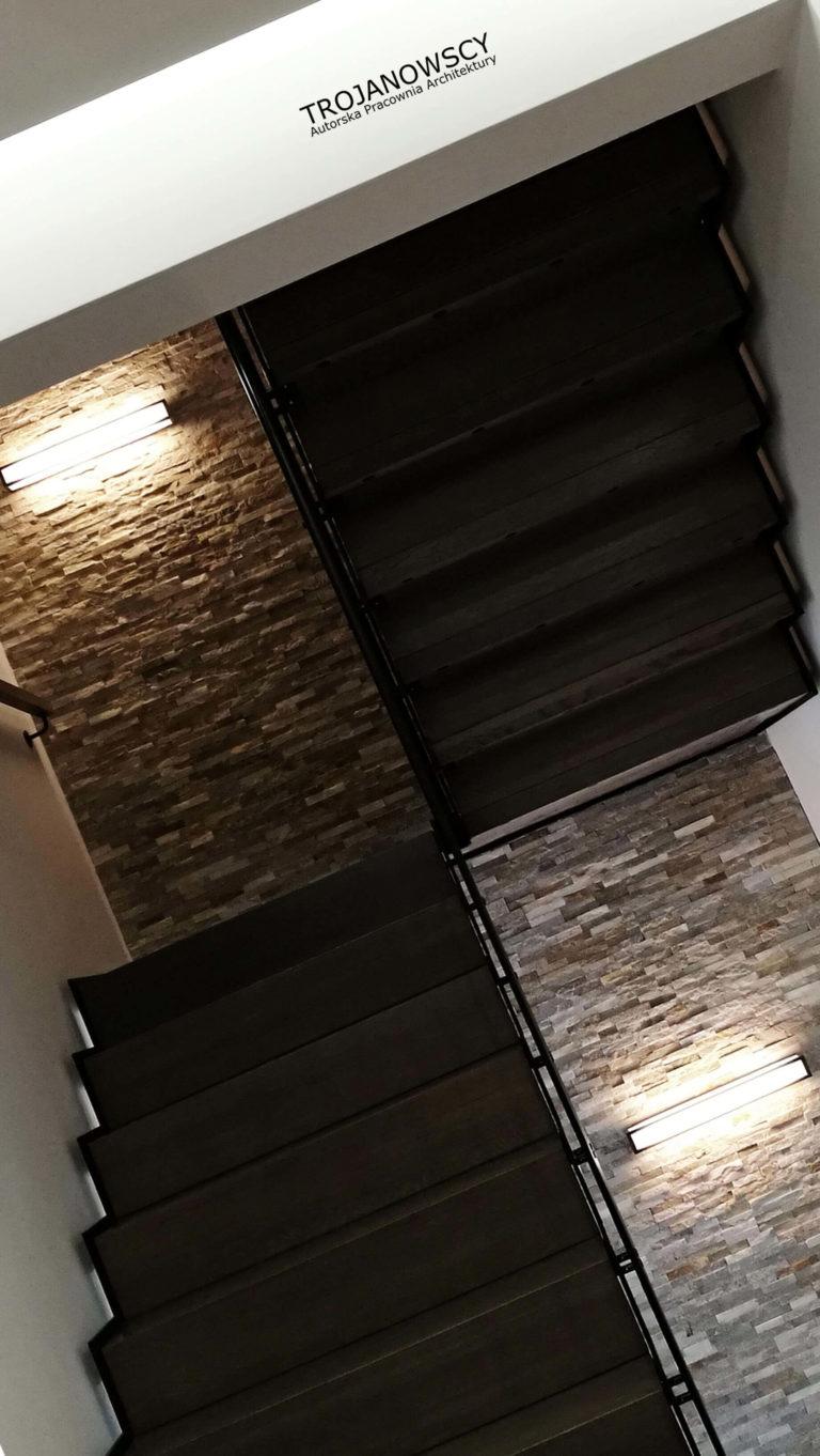 ciemne schody