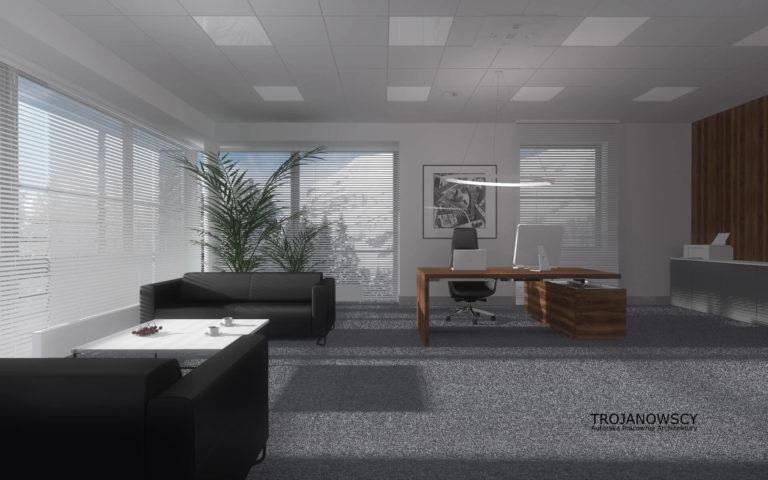 aranżacja nowoczesnego biura