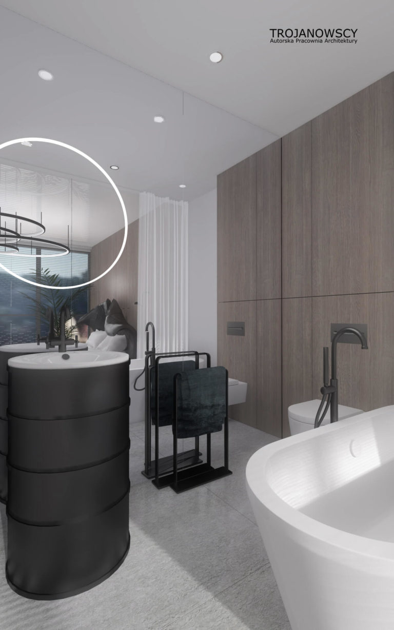 łazienka w apartamencie 150m2