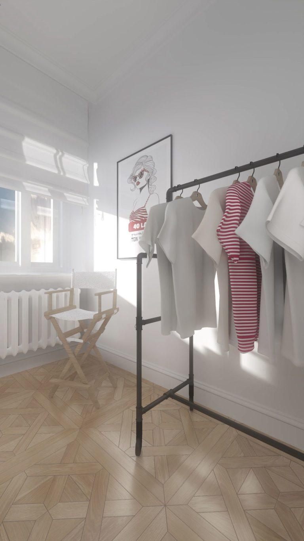 garderoba w mieszkaniu na Gimnazjalnej