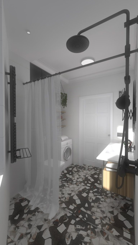 widok na łazienke