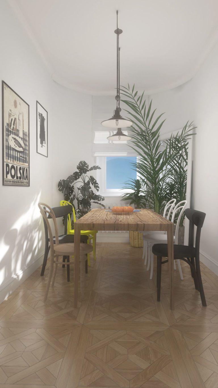jadalnia w nowoczesnym mieszkaniu