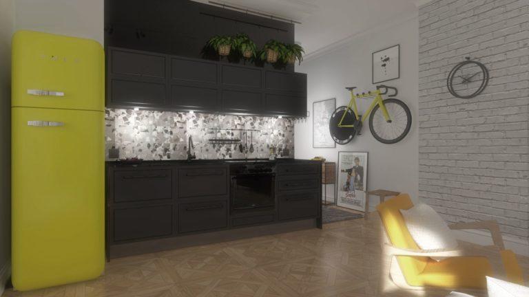 nowoczesne meble w mieszkaniu