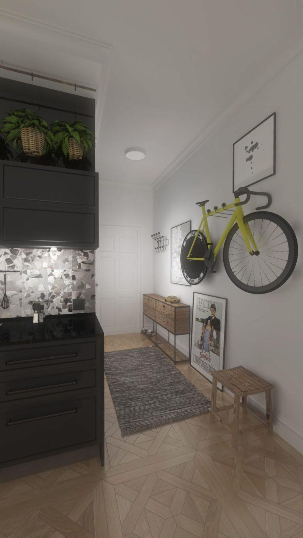 wystrój wnętrza mieszkania
