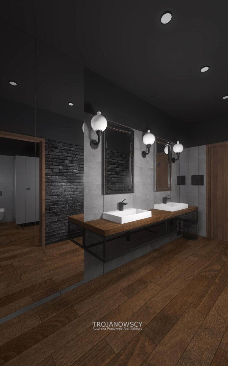 projekt łazienki Point Club