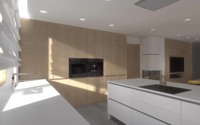 szafy w kuchni
