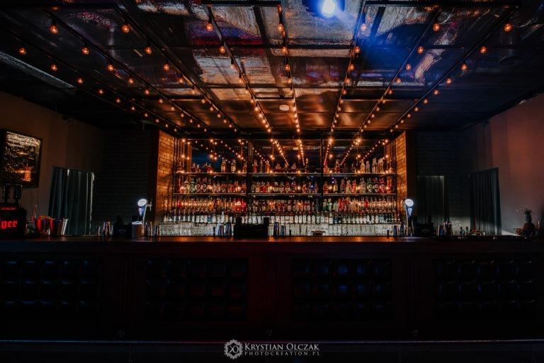 bar w klubie Point Club w Bydgoszczy