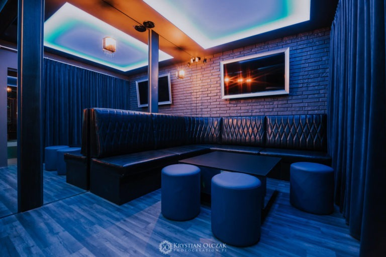 wnętrze VIP Room w Point Club