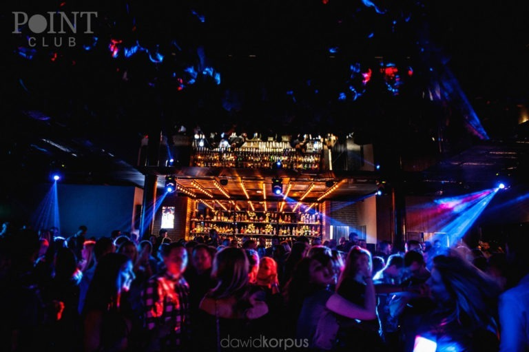impreza w klubie Point Club