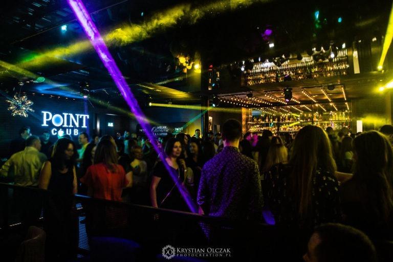 wnętrze klubu Point Club w Bydgoszczy