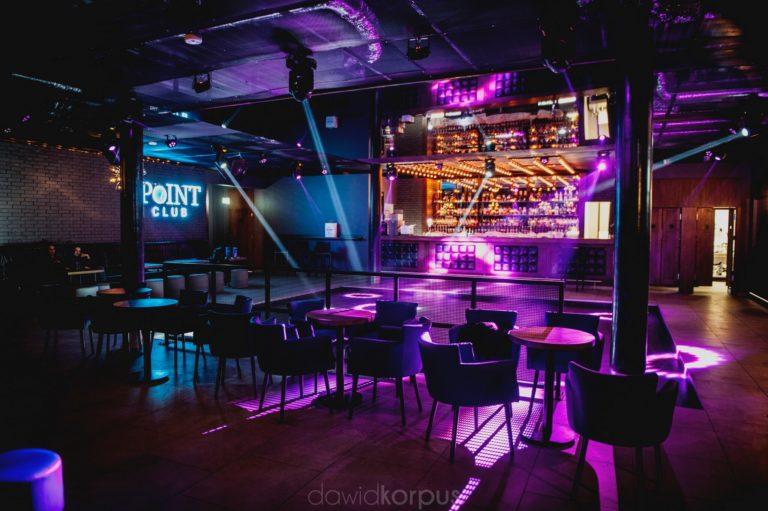 wystrój klubu Point Club