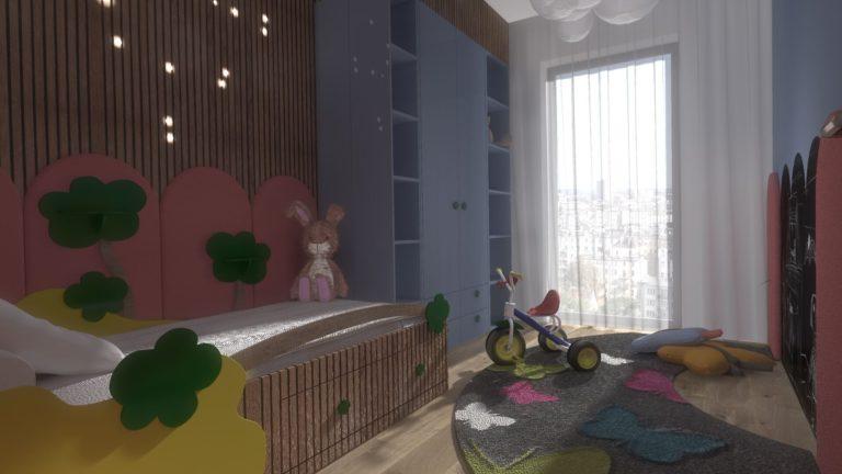 kolorowa aranżacja pokoju dziecięcego