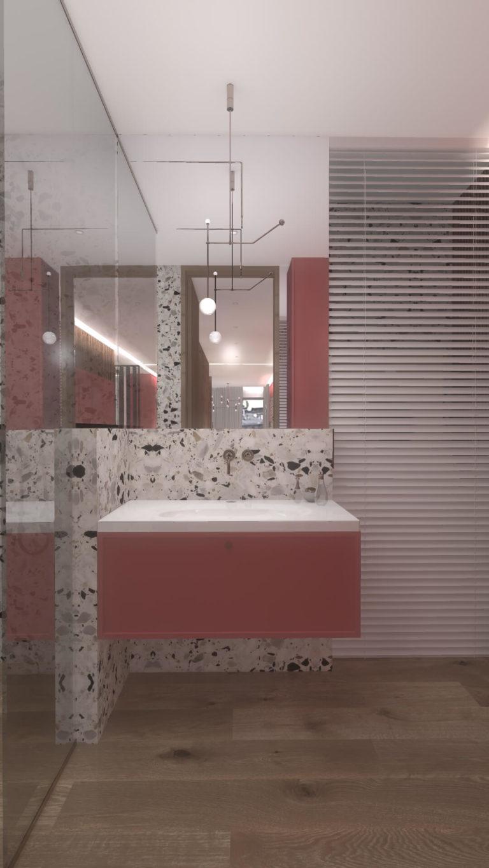nowoczesna łazienka w apartamencie