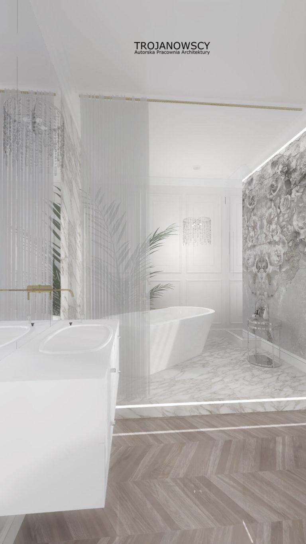 aranżacja luksusowej łazienki