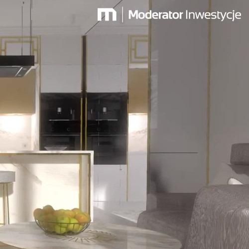 Mieszkanie z pomysłem: aranżacja apartamentu w prestiżowym wieżowcu Nordic Heaven w Bydgoszczy - APA Trojanowscy & Moderator Inwestycje